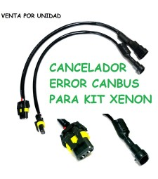 Cancelador Error Kit Xenon HID Canbus Anti Parpadeo Universal Compacto