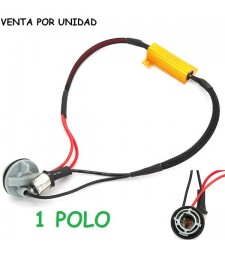 Decodificador Led P21W S25 BA15S 1156 Cancelador Canbus No Error Coche