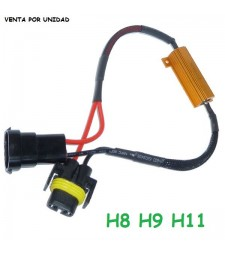 Decodificador Led H8 H9 H11 H16 Cancelador Canbus error Parpadeo Coche