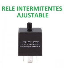 RELÉ 3 Pin ajustable parpadeo intermitente