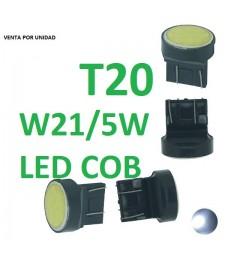 Bombilla T20 W21/5W 7443 580 7440 W21W 12 Led Cerámica Posición Freno
