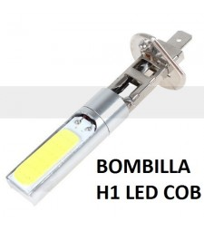 Bombilla H1 Led Cerámica Bajo Consumo Luz Blanca Anti Niebla 6000K coche
