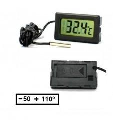 Termómetro con Sonda 1 Metro Desde -50º Hasta +110º Grados temperatura