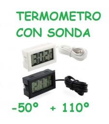 TERMOMETRO CON SONDA DE 1 METRO -50º +110º