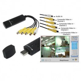 CCTV USB 4 CANALES usb para ordenador