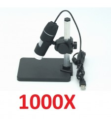 MICROSCOPIO USB 1000x augmentos 8 LED