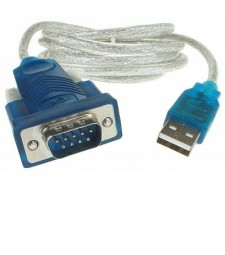 ADAPTADOR DE USB A RS232 SERIAL DB9