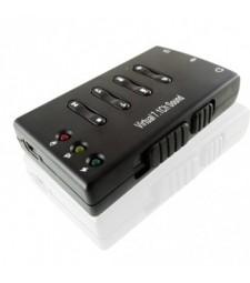 TARJETA DE SONIDO USB 2.0 PC ORDENADOR