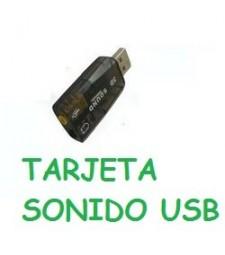 Tarjeta de sonido externa USB Ordenador
