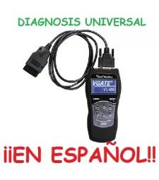 HERRAMIENTA MAQUINA DIAGNOSIS UNIVERSAL ¡¡EN ESPAÑOL!! OBD