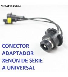 Conector Adaptador Balastro D2S D2R D2C D4S Macho Bombilla Universal