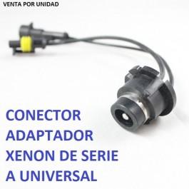 ADAPTADOR CONECTOR BASE BOMBILLA D2S D2R D2C D4S XENON MACHO UNIVERSAL