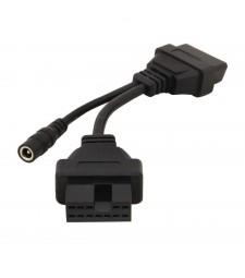 Cable Adaptador Mitsubishi y Hyundai 12 pin ODB a OBD2 16 pin Diagnosis