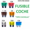 FUSIBLES PARA COCHE, FURGONETA, CAMION, TIPO CUCHILLA