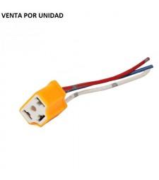 Conector para Bombilla H4 HB2 9003 Casquillo Europeo Hembra Cerámico