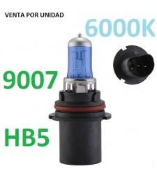 Bombilla Halógena HB5 9007 6000k Luz Blanca Efecto Xenon PX29T 80/100W