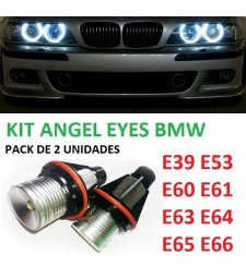 Kit Angel Eyes Led BMW E39 E53 E60 E61 E63 E64 E65 E66 Canbus No Error