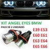 PACK ANGEL EYES LED BMW E39 E53 E60 E61 E63 E64 E65 E66