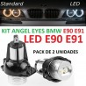 PACK ANGEL EYES LED BMW E90 E91 Serie 3 325i 325xi 328i 328xi 330i