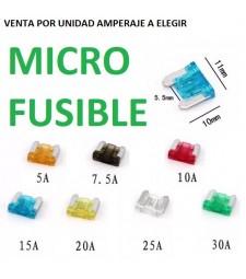 Micro Fusible Universal Coche Moto Camión Furgoneta Carabana