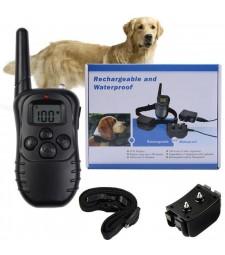 Collar De adiestramiento Perro con mando Educación Bateria Recargable