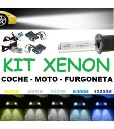Kit De Xenon Luz Cruce Largas Bombillas Coche Furgoneta Alta Intensidad