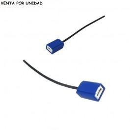 CONECTOR BOMBILLA H1 Y H3 CERAMICO ESTANDARD LED XENON HALOGENA 100W