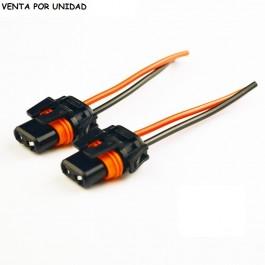 CONECTOR BOMBILLA HB3 HB4 9005 9006 9012 H10 ESTANDARD XENON HALOGENA