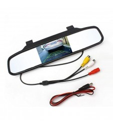 Monitor Integrado en Retrovisor Central para Camara Coche Furgoneta