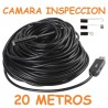 CAMARA ENDOSCOPICA CABLE 20M TUBERIA BAJANTE ATASCO 9MM USB