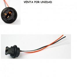 CONECTOR BOMBILLA T20 7443 7440 580 W21/5W W21W CUÑA LED HALOGENA