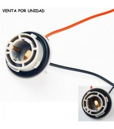 Conector Bombilla BAU15S 1156PY PY21W Coche Hembra Furgoneta Camión