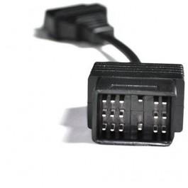 Adaptador TOYOTA 17 pin a OBDII 16 pin universal