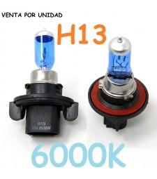 BOMBILLA HALOGENA H13 PJ26.4T 60w 55w 6000K EFECTO XENON