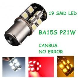 BOMBILLA CANBUS BA15S 1156 s25 p21w 19 LED