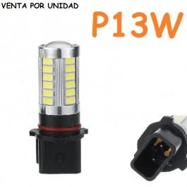 BOMBILLA LED P13W ANTINIEBLA Y LUZ DE CIRCULACION DIURNA COCHE