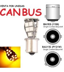 Bombilla Led PY21W P21W BAU15S BA15S S25 Intermitente Canbus No Error