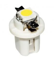 Bombilla Led T5 B8.5D SMD W1.2W 286 Con casquillo Marcador Cuadro Coche