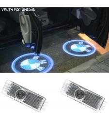 Lámpara Proyector Luz Led para Puertas con Logo Insignia BMW