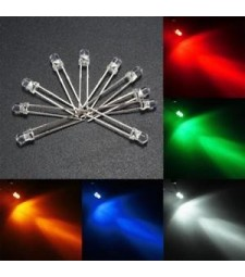 Led de 3 mm Diodo Suelto Color a elegir Universal alta luminosidad