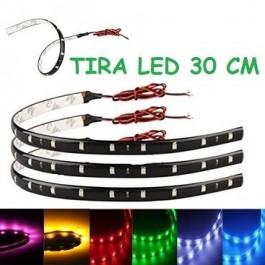 TIRA LED 30 CM, FLEXIBLES, 12V
