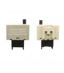 Relé 8 pin Ajustable Electrónico Intermitentes Led Coche Furgoneta