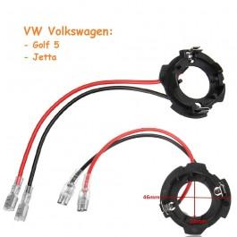 Soporte Lámparas Kit de Led o Kit de Xenon Bombilla H7 VW Vag Ref. 2