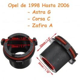 Soporte Porta Lámparas Kit de Xenon Bombilla H7 Opel Mazda Ref. 2024