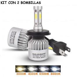 KIT H4 LED 16000 LUMENES 12/24V