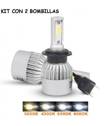 KIT LED COB H7 16000 LUMENES