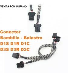 Conector Bombilla Xenon D1S D3S D1C D1R D3C D3R Estándar Coche Camión