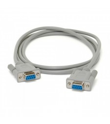Cable Serie Hembra a Hembra RS232 DB9 Puerto COM RS-232 db-9 Serial