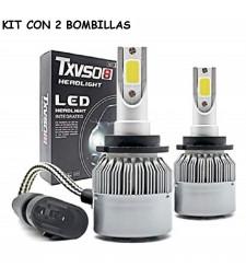 Kit D2S y D4S Led 20000 Lumen 12V - 24V Coche Camión Luz Cruce y Larga