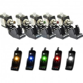 Interruptor Switch Led Tunning Coche Camión Boton Salpicadero